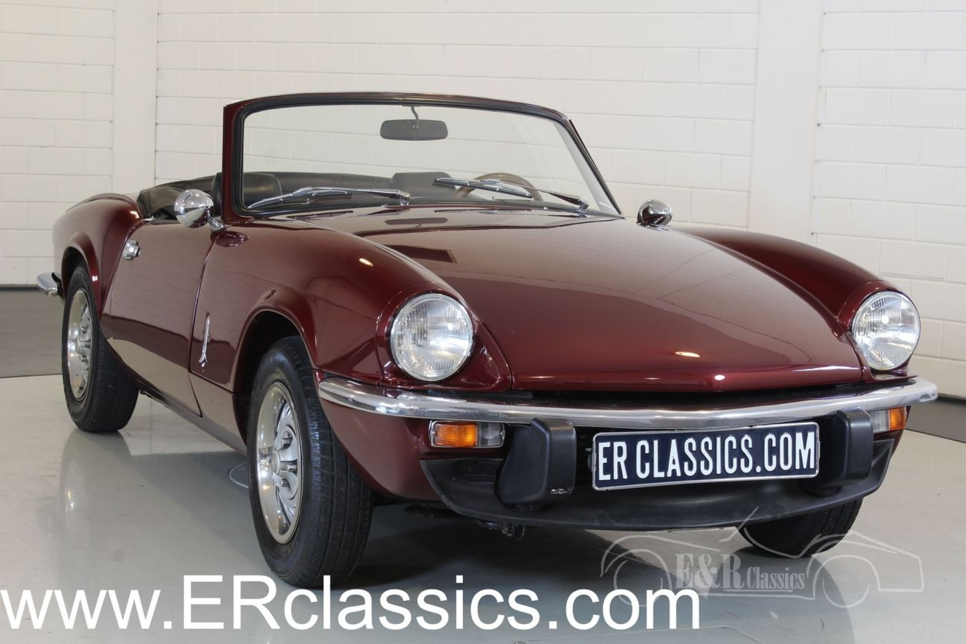 Triumph Spitfire 1500 Cabriolet 1978 for sale at ERclassics