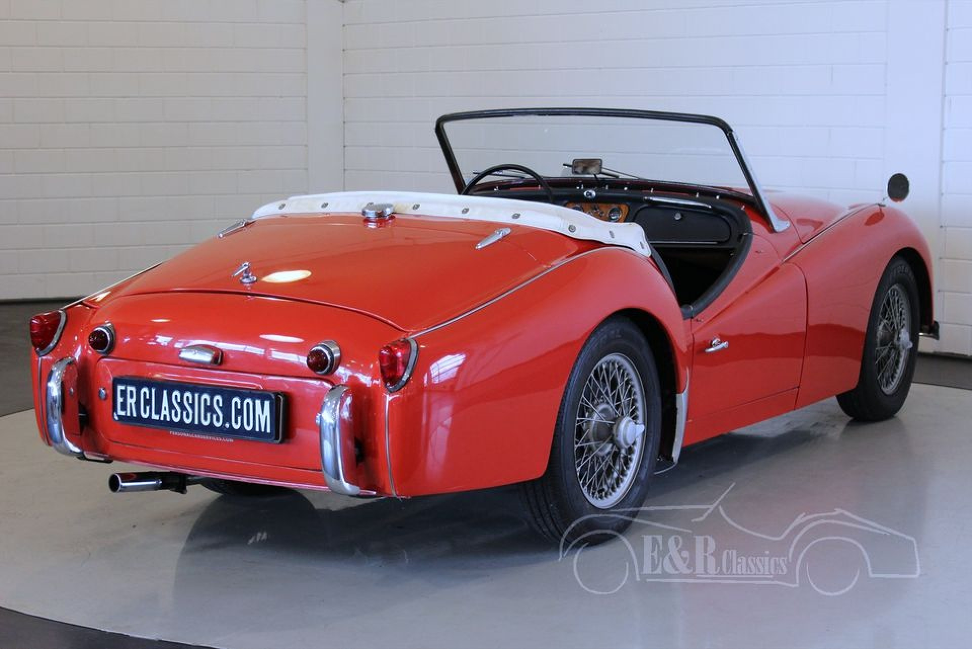triumph tr3 1957 for sale at erclassics. Black Bedroom Furniture Sets. Home Design Ideas