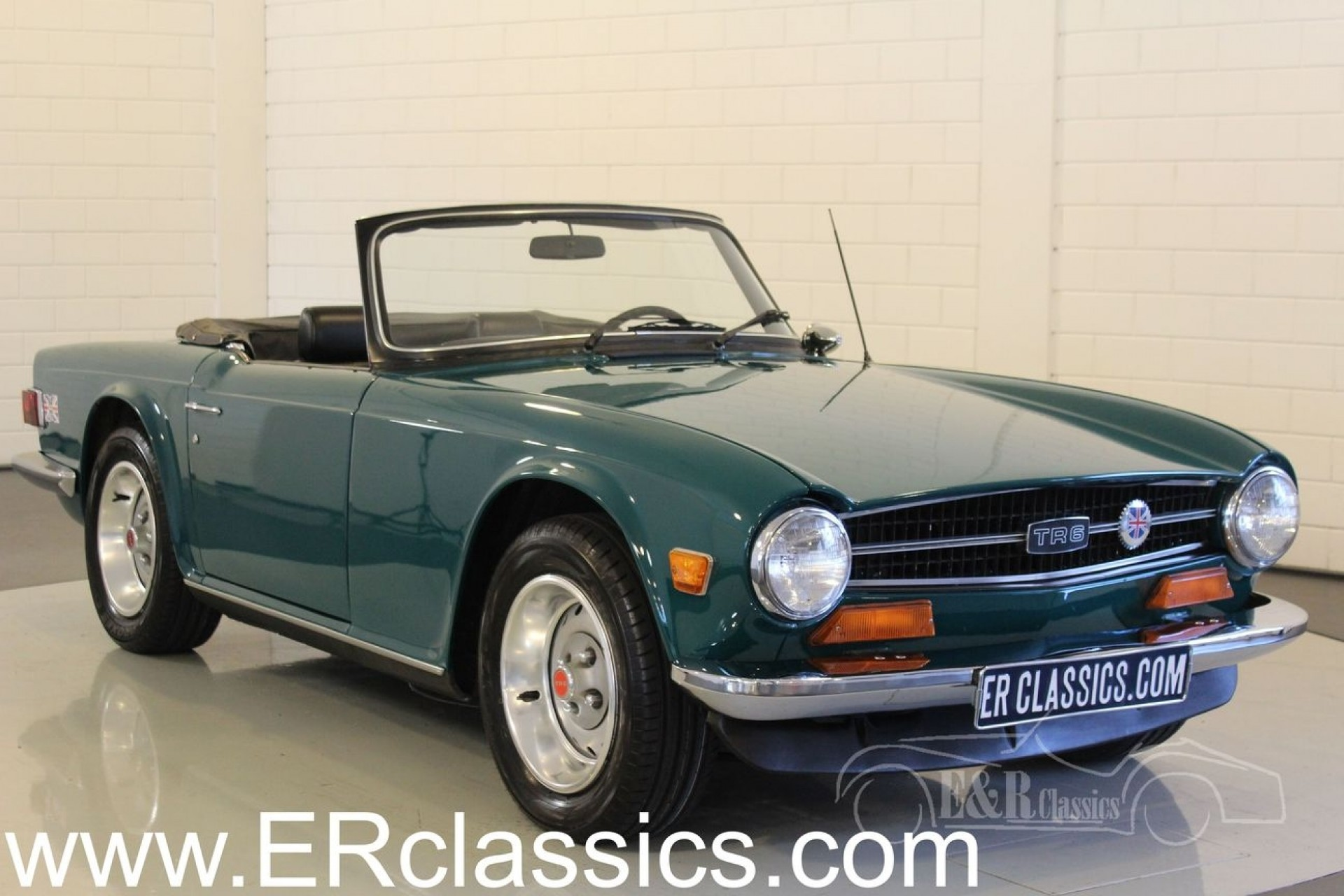 Honda Union City >> Triumph TR6 cabriolet 1974 for sale at ERclassics
