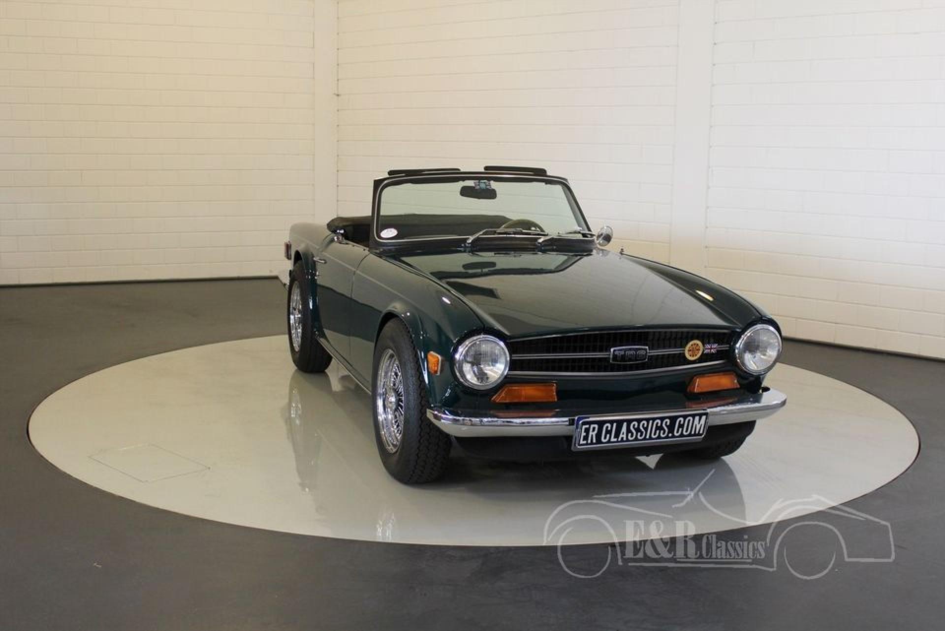 Triumph TR6 1973 for sale at ERclassics