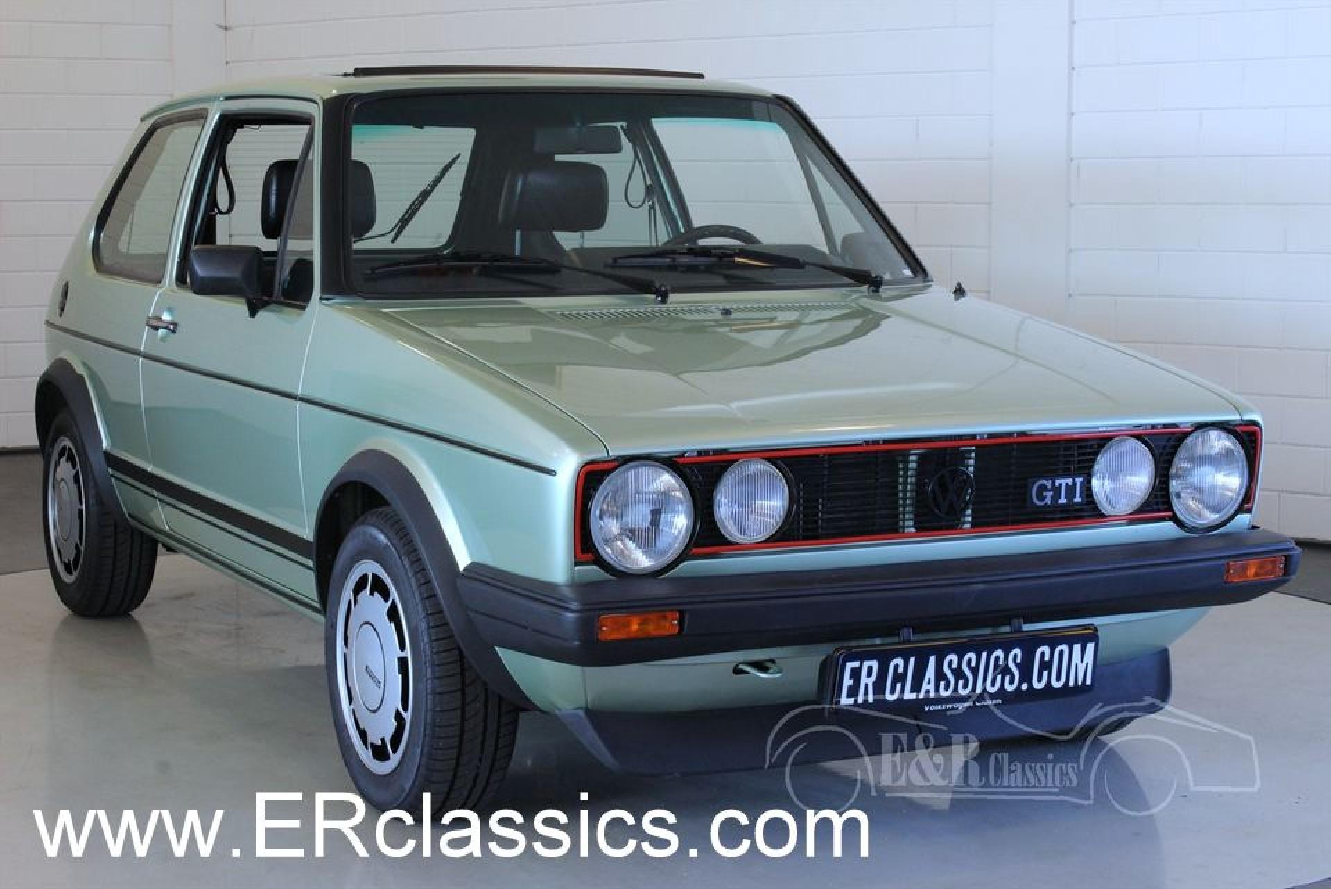 Volkswagen Golf Gti Mki 1981 For Sale At Erclassics