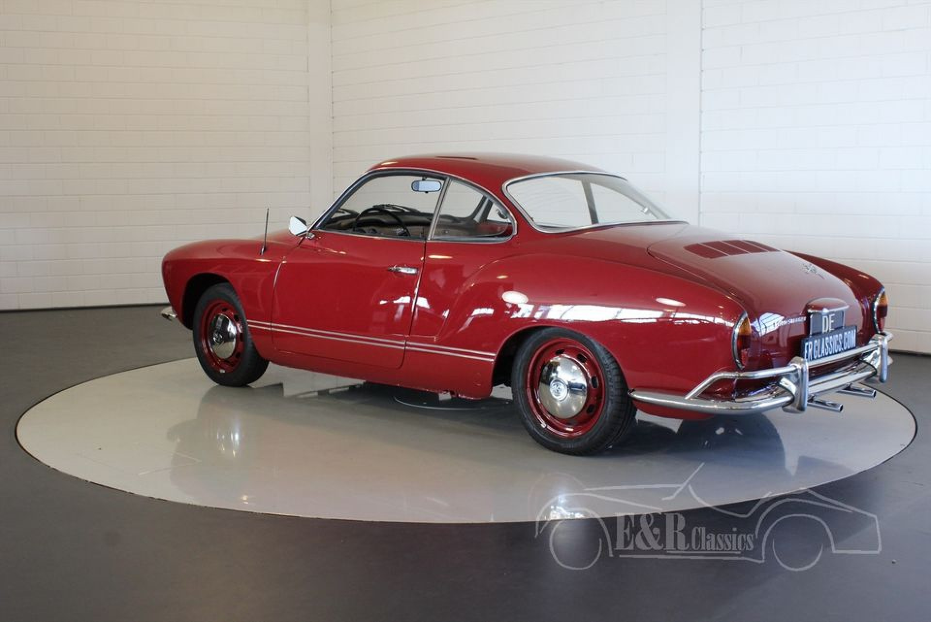 vw karmann ghia coupe 1969 for sale at erclassics. Black Bedroom Furniture Sets. Home Design Ideas