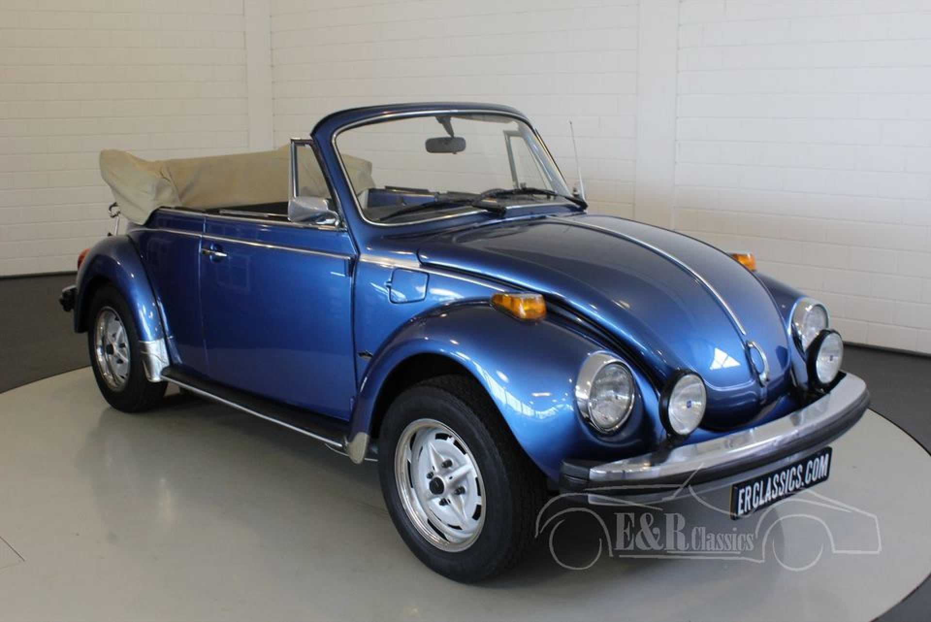 volkswagen beetle cabriolet 1978 for sale at erclassics. Black Bedroom Furniture Sets. Home Design Ideas