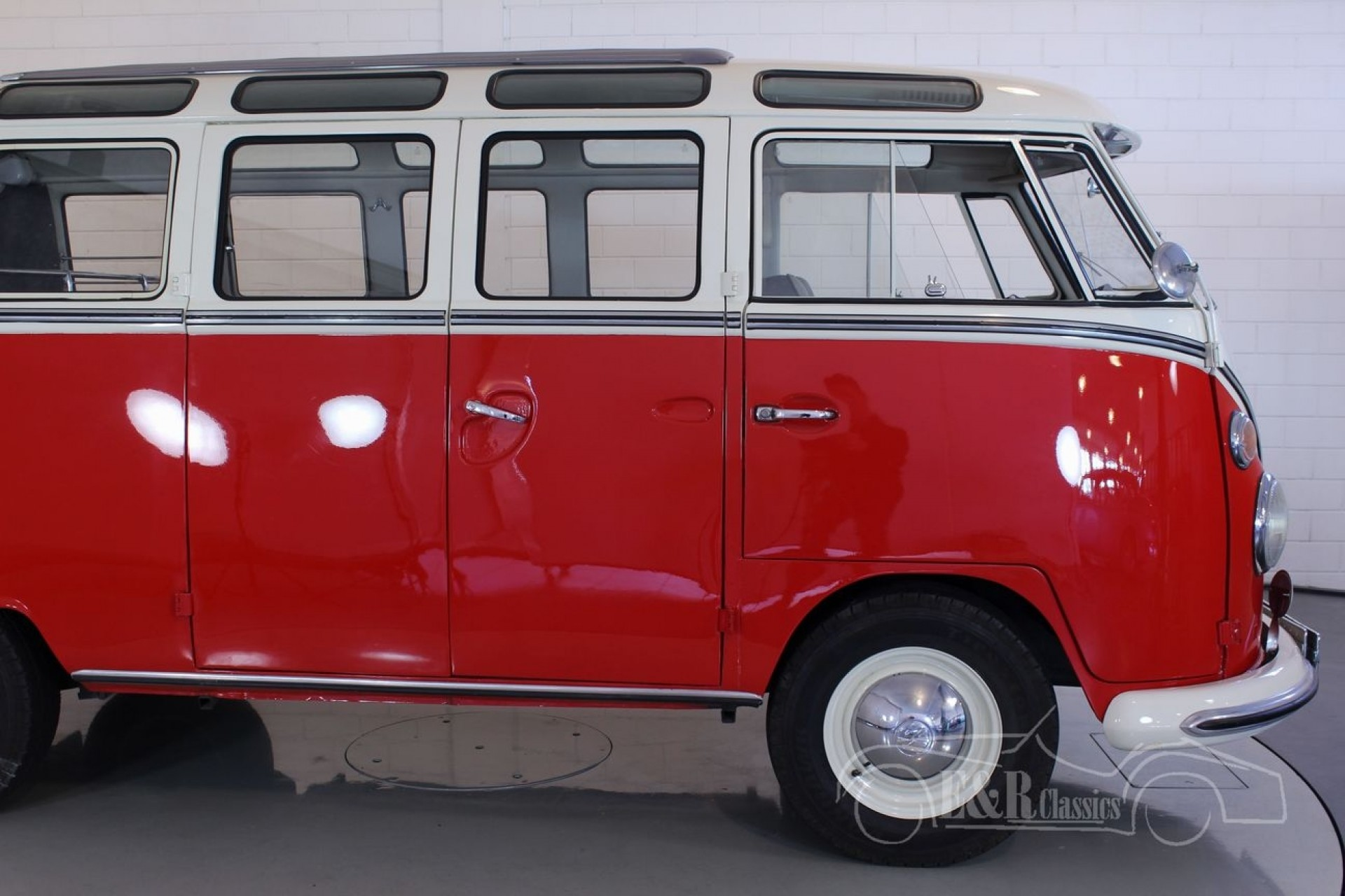 volkswagen t1 samba 1966 for sale at erclassics. Black Bedroom Furniture Sets. Home Design Ideas