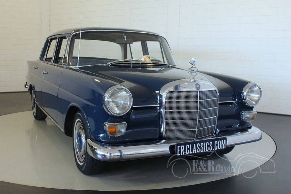 Mercedes benz 230 heckflosse 1967 for sale at erclassics for Mercedes benz 230 for sale