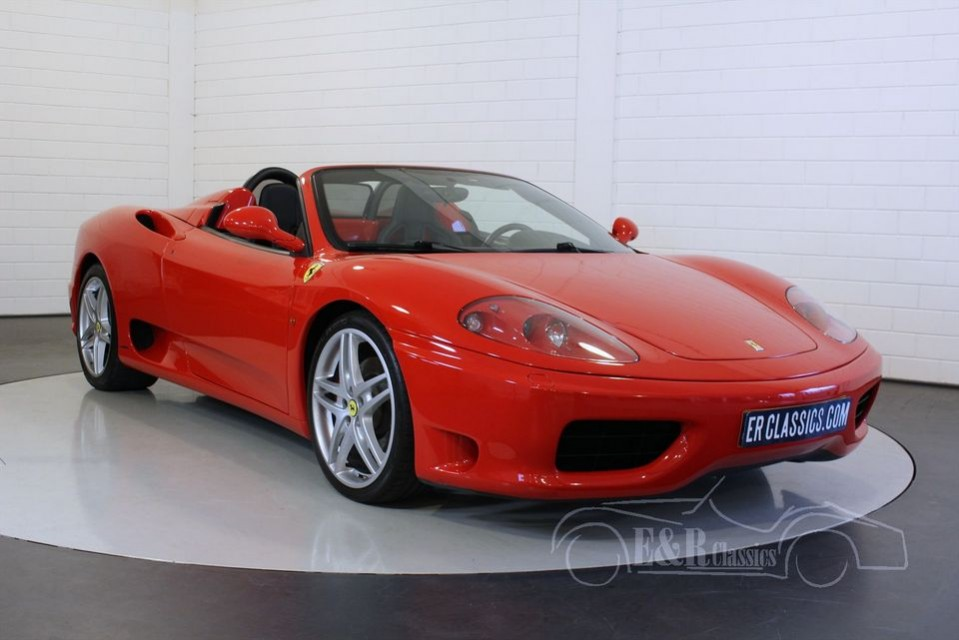 home classic cars for sale ferrari 360 spider f1 2002. Cars Review. Best American Auto & Cars Review