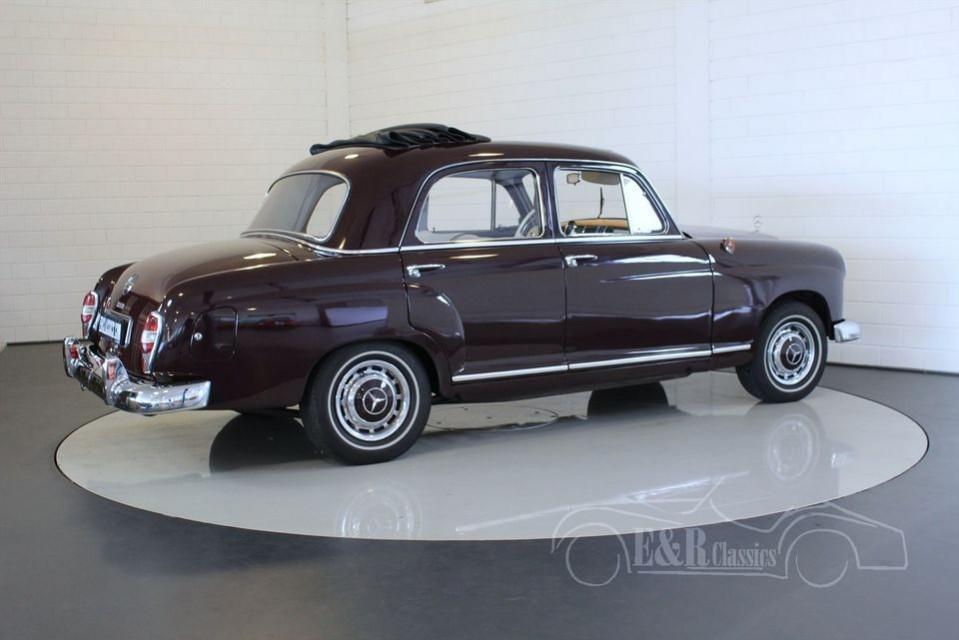 Mercedes benz 190d ponton 1961 for sale at erclassics for Mercedes benz 190d for sale