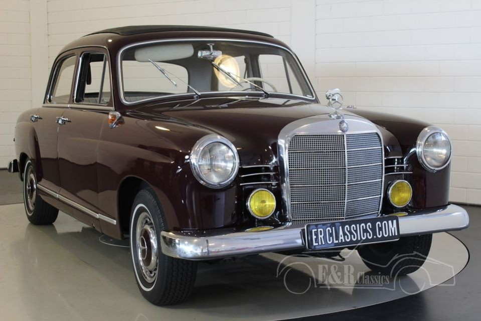 Mercedes-Benz 190D Ponton 1961 for sale at ERclassics