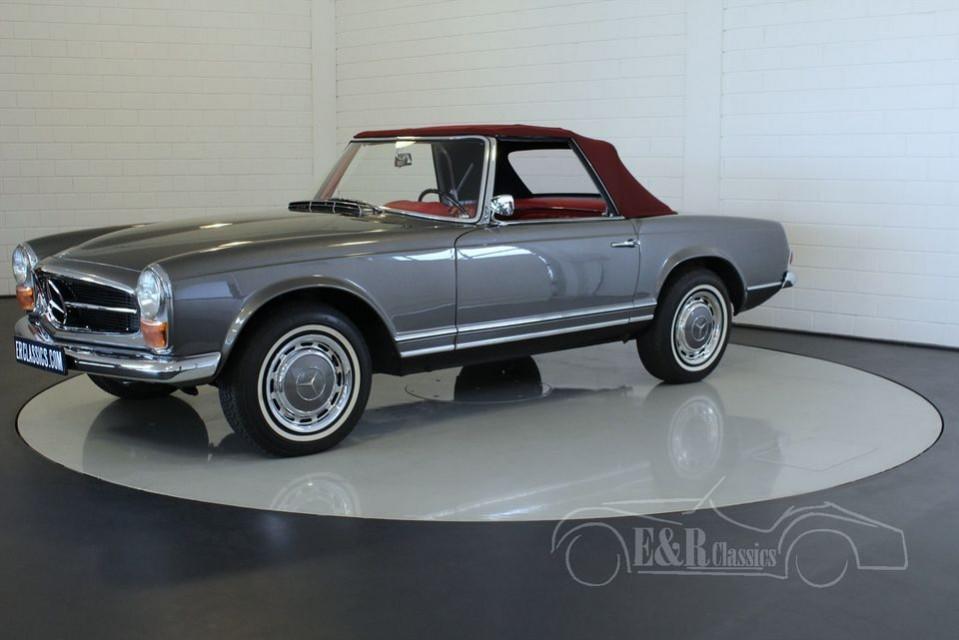 Mercedes benz 230sl pagode 1966 for sale at erclassics for 1966 mercedes benz 230sl