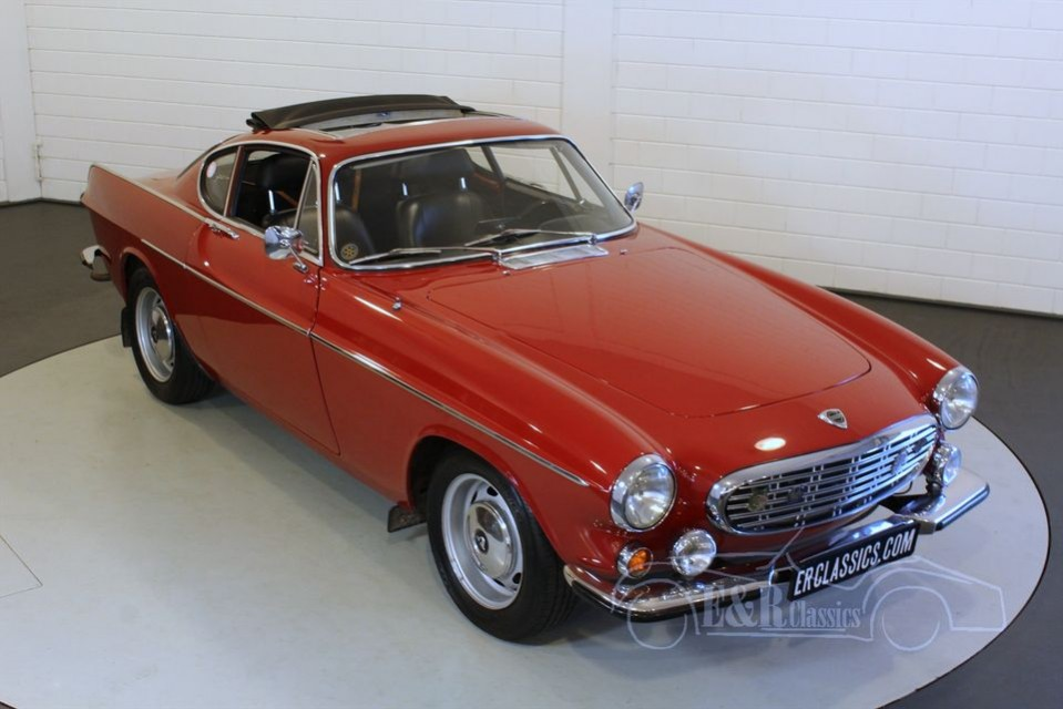 volvo p1800 s coupe 1967 for sale at erclassics. Black Bedroom Furniture Sets. Home Design Ideas