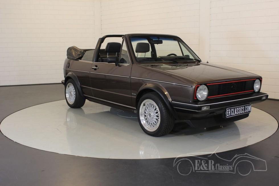 Volkswagen Golf MK1 Convertible 1984