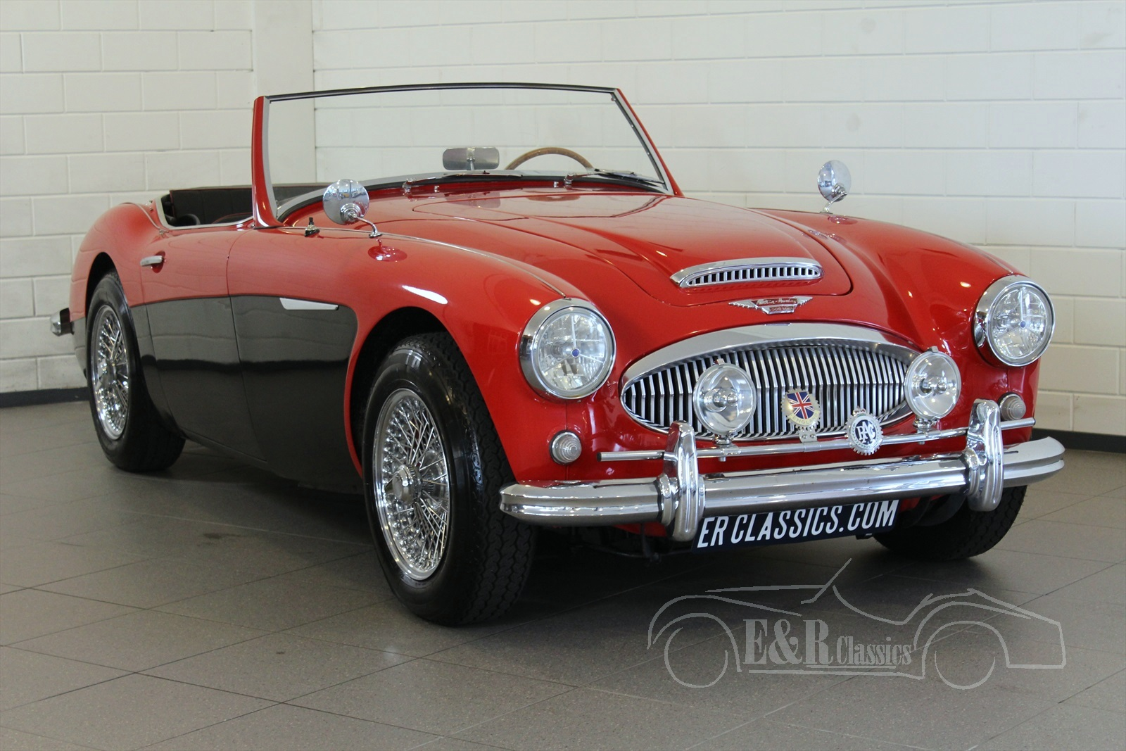 1968ed7221d Austin Healey 3000 Big Healey For Sale at E   R Classic Cars!